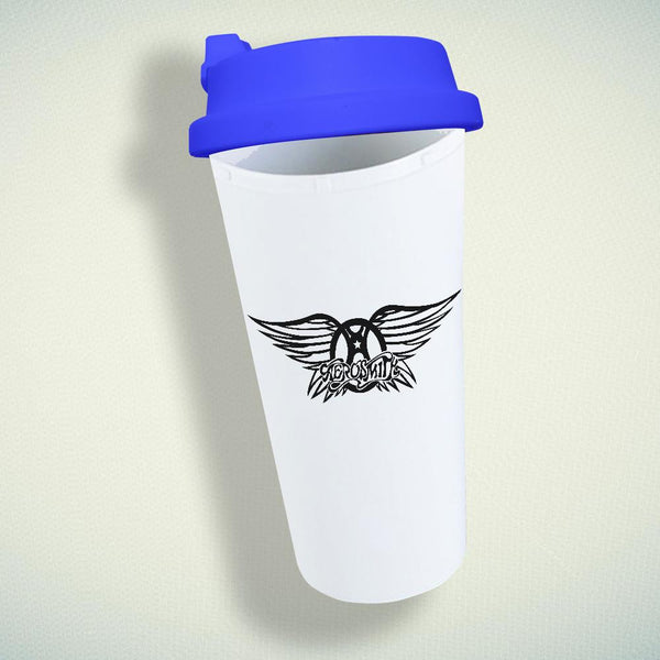 Aerosmith Band Logo Double Wall Plastic Mug