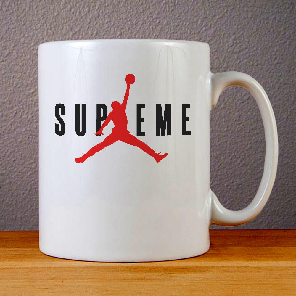 Air Jordan X Supreme Ceramic Coffee Mugs