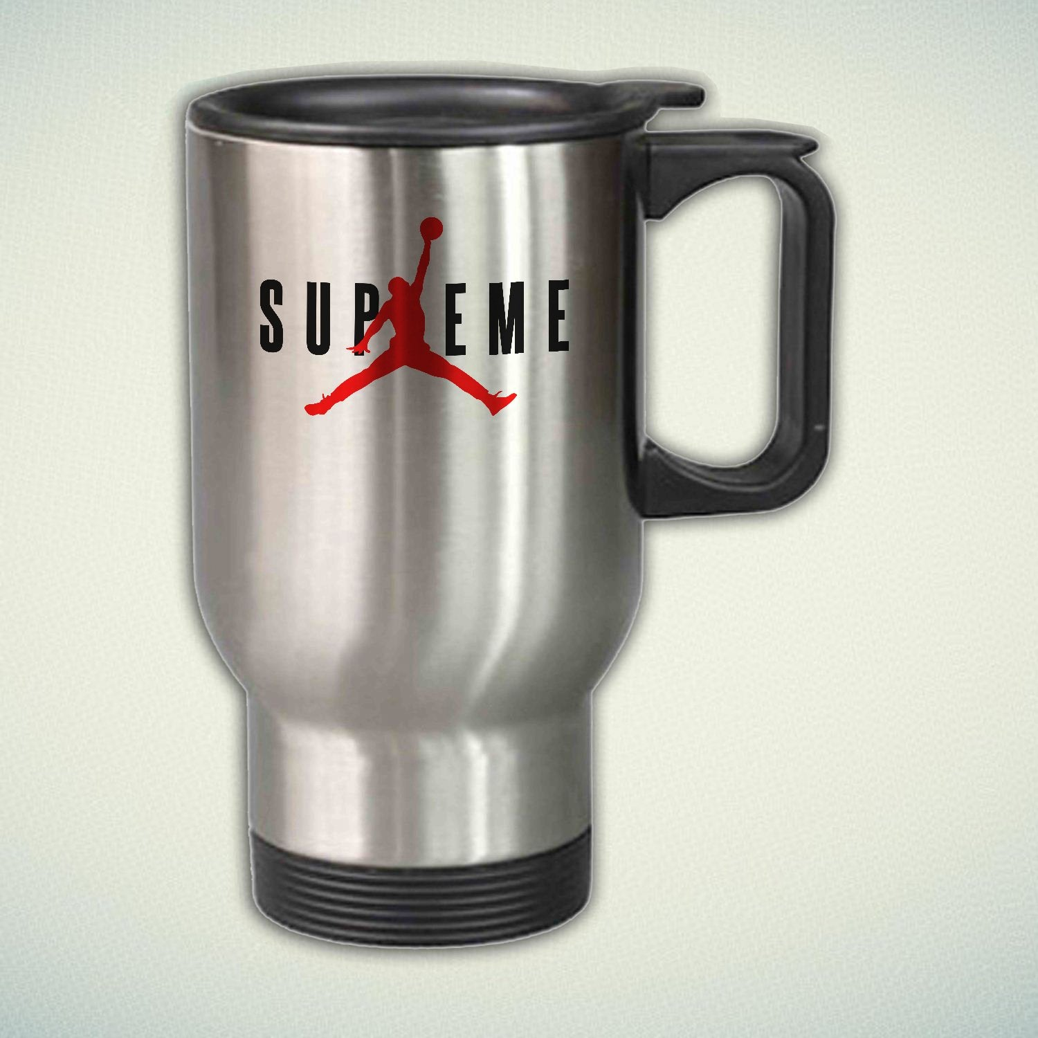 Air Jordan X Supreme 14oz Stainless Steel Travel Mug