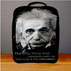 Albert Einstein Quotes Backpack for Student