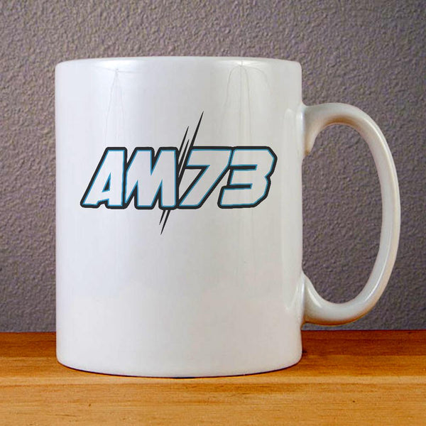 Alex Marquez Logo Ceramic Coffee Mugs