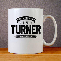 Alex Turner Arctic Monkeys Ceramic Coffee Mugs