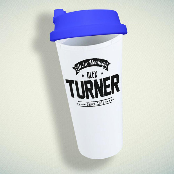 Alex Turner Artic Monkeys Double Wall Plastic Mug