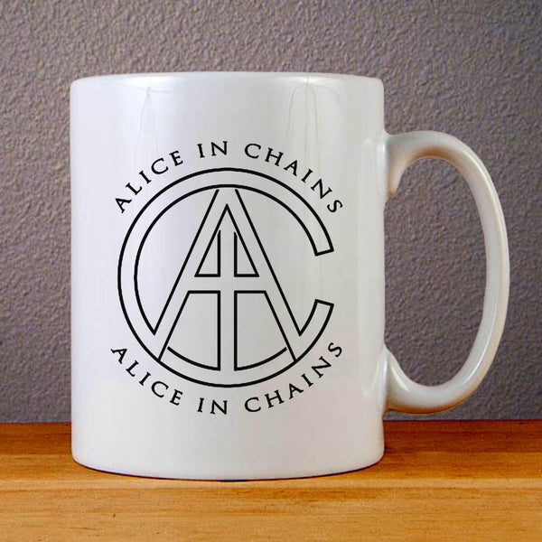 Alice in Chains AIC Logo Ceramic Coffee Mugs