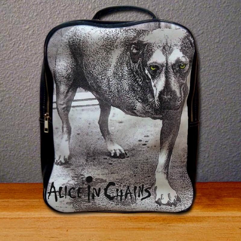 Alice in Chains Cover Backpack for Student