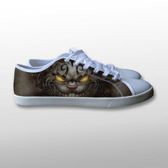 Alice in Wonderland Evil Cheshire Cat Canvas Shoes