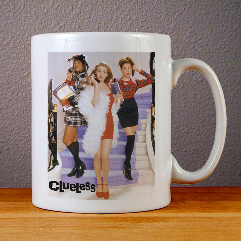 Alicia Silverstone Cueless Ceramic Coffee Mugs