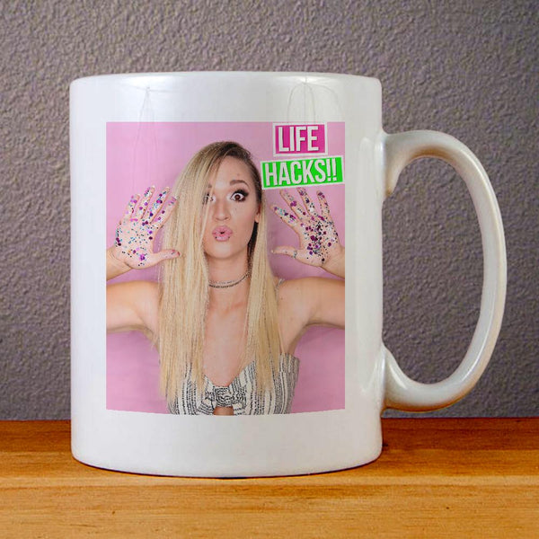 Alisha Marie Face Ceramic Coffee Mugs