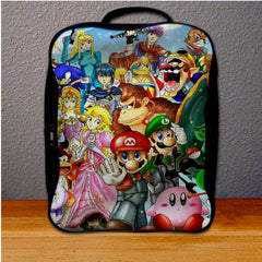 All Character Game Nitendo Backpack for Student