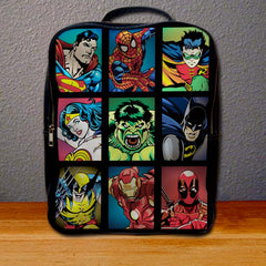All Character Superheroes Backpack for Student