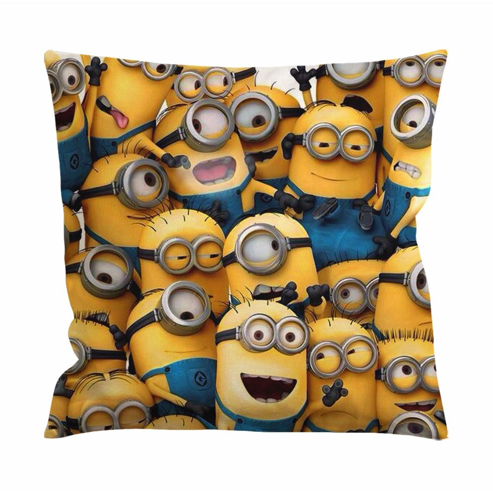 All Minion Cushion Case / Pillow Case
