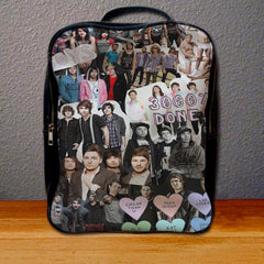 All Time Low Collage Art Backpack for Student