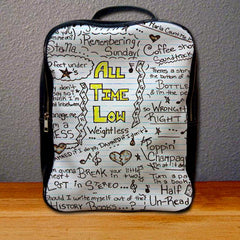 All Time Low Collage Backpack for Student