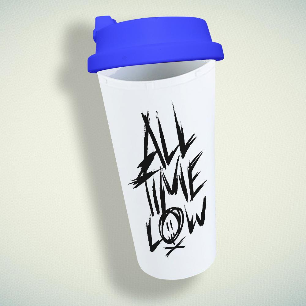 All Time Low Double Wall Plastic Mug