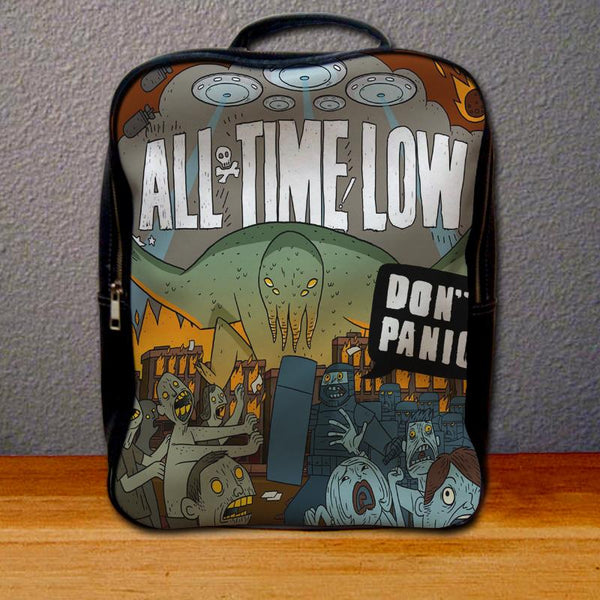All Time Low Don't Panic Backpack for Student