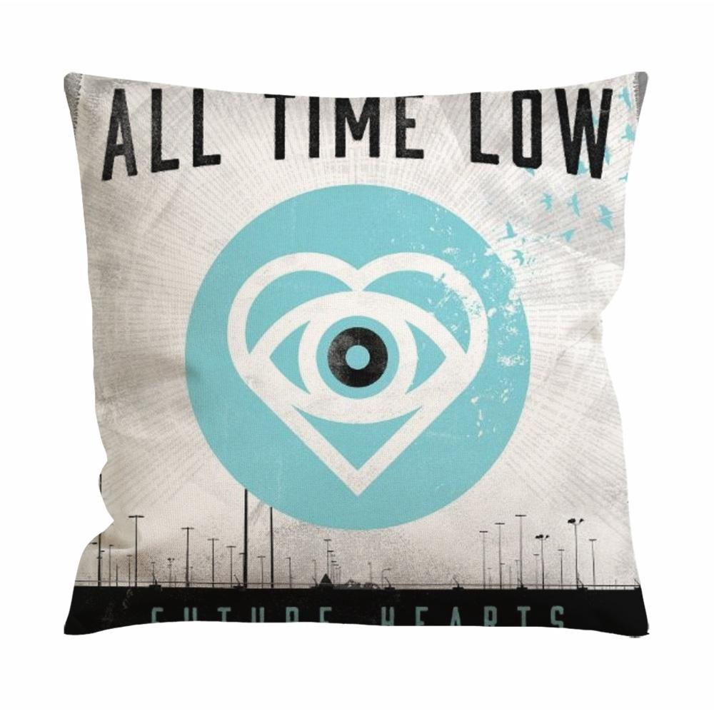 All Time Low Future Hearts Cushion Case / Pillow Case