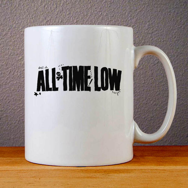 All Time Low Logo Ceramic Coffee Mugs