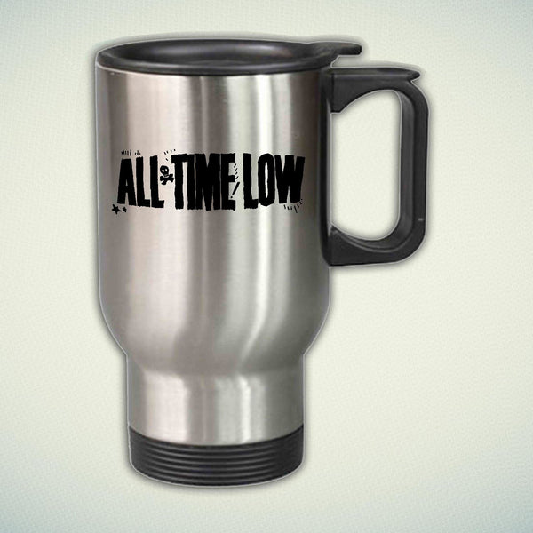 All Time Low Logo 14oz Stainless Steel Travel Mug