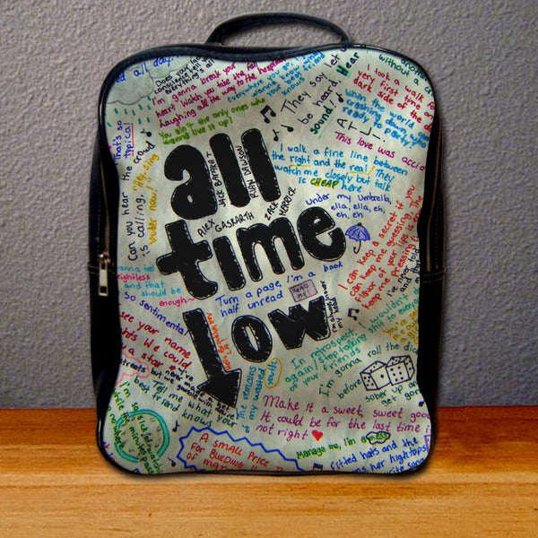 All Time Low Lyric Backpack for Student