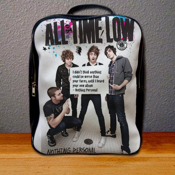 All Time Low Nothing Personal Backpack for Student