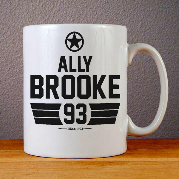Ally Brooke Fifth Harmony Ceramic Coffee Mugs
