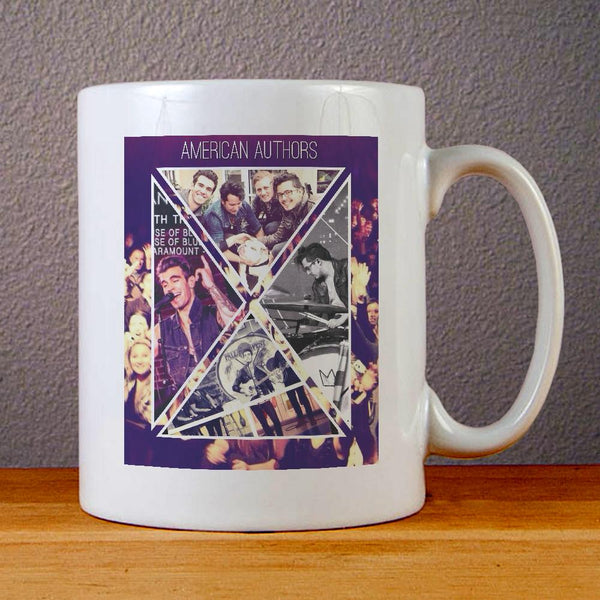 American Authors Band Ceramic Coffee Mugs