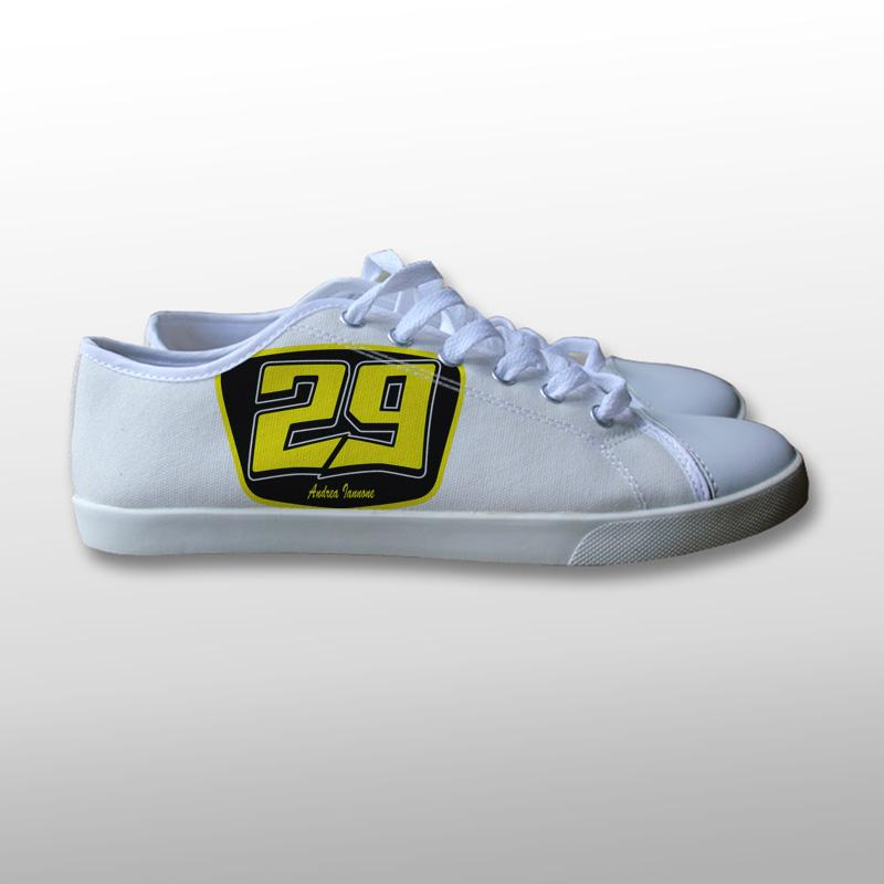 Andrea Iannone Logo Canvas Shoes