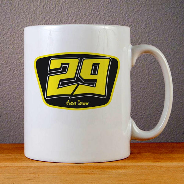 Andrea Iannone Logo Ceramic Coffee Mugs
