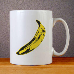 Andy Warhol Banana Ceramic Coffee Mugs
