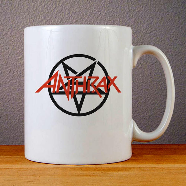 Anthrax Logo Ceramic Coffee Mugs