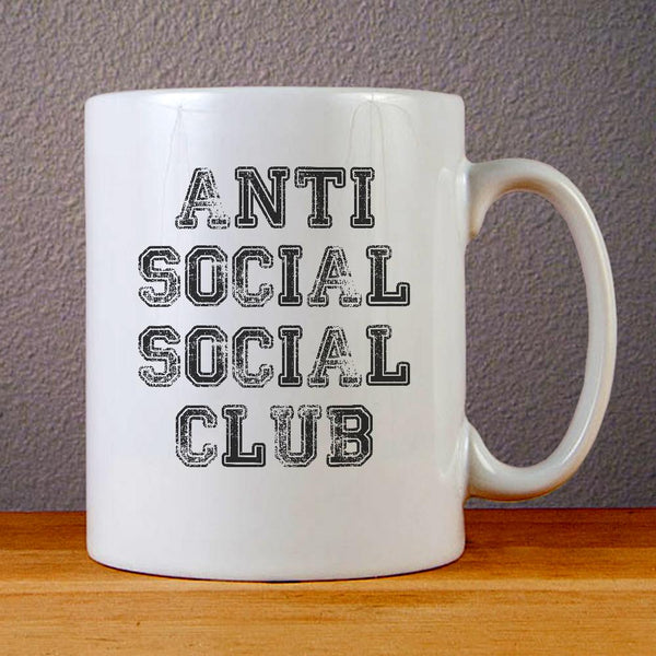 Anti Social Social Club Ceramic Coffee Mugs