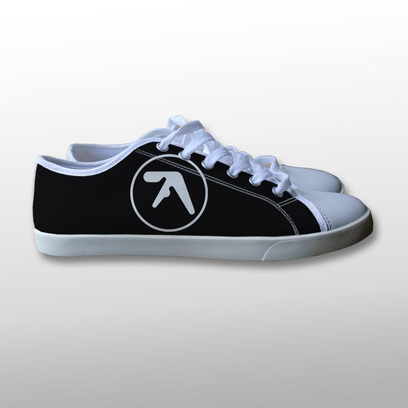Aphex Twin Logo Canvas Shoes