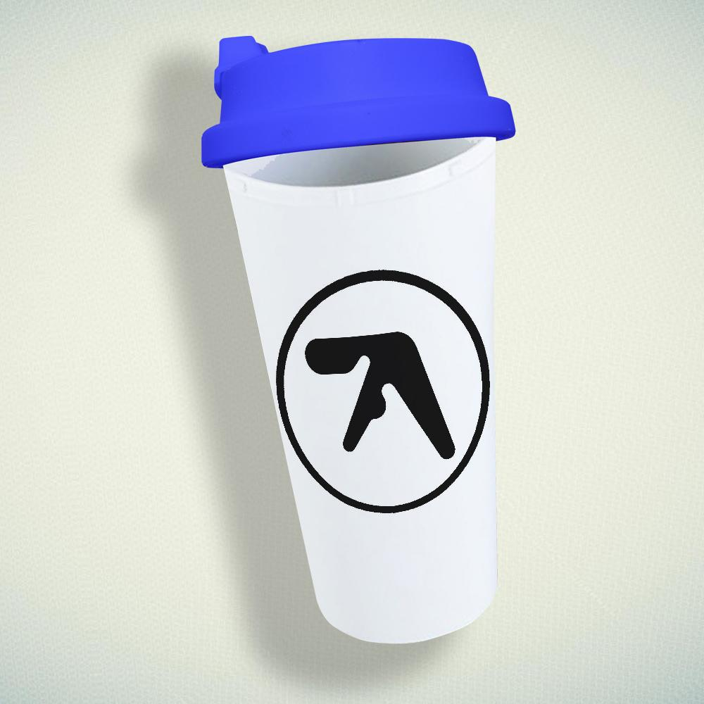 Aphex Twin Logo Double Wall Plastic Mug