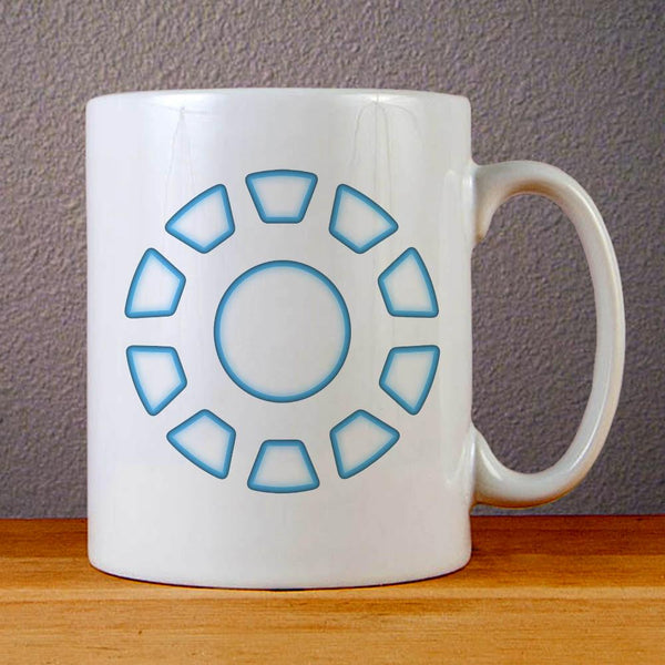 Arc Reactor Iron Man Ceramic Coffee Mugs