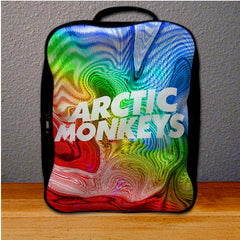 Arctic Monkeys Abstrack Backpack for Student