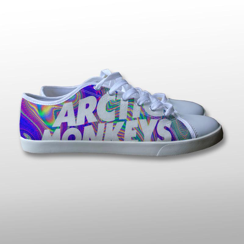 Arctic Monkeys Art Canvas Shoes