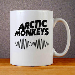 Arctic Monkeys Band Logo Ceramic Coffee Mugs