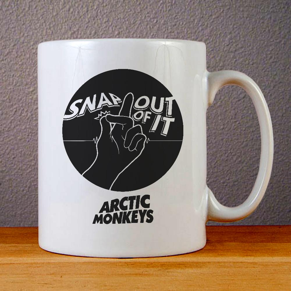 Arctic Monkeys Snap Out of It Ceramic Coffee Mugs