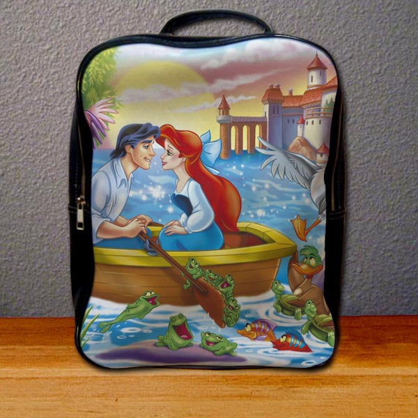 Ariel and Eric on Boat Backpack for Student