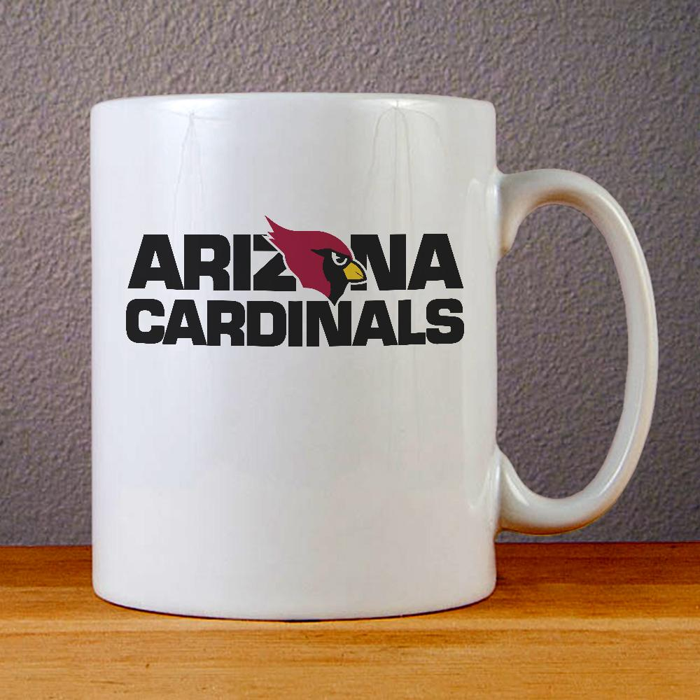 Arizona Cardinals Logo Ceramic Coffee Mugs