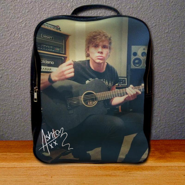 Ashton Irwin 5 Seconds of Summer Backpack for Student