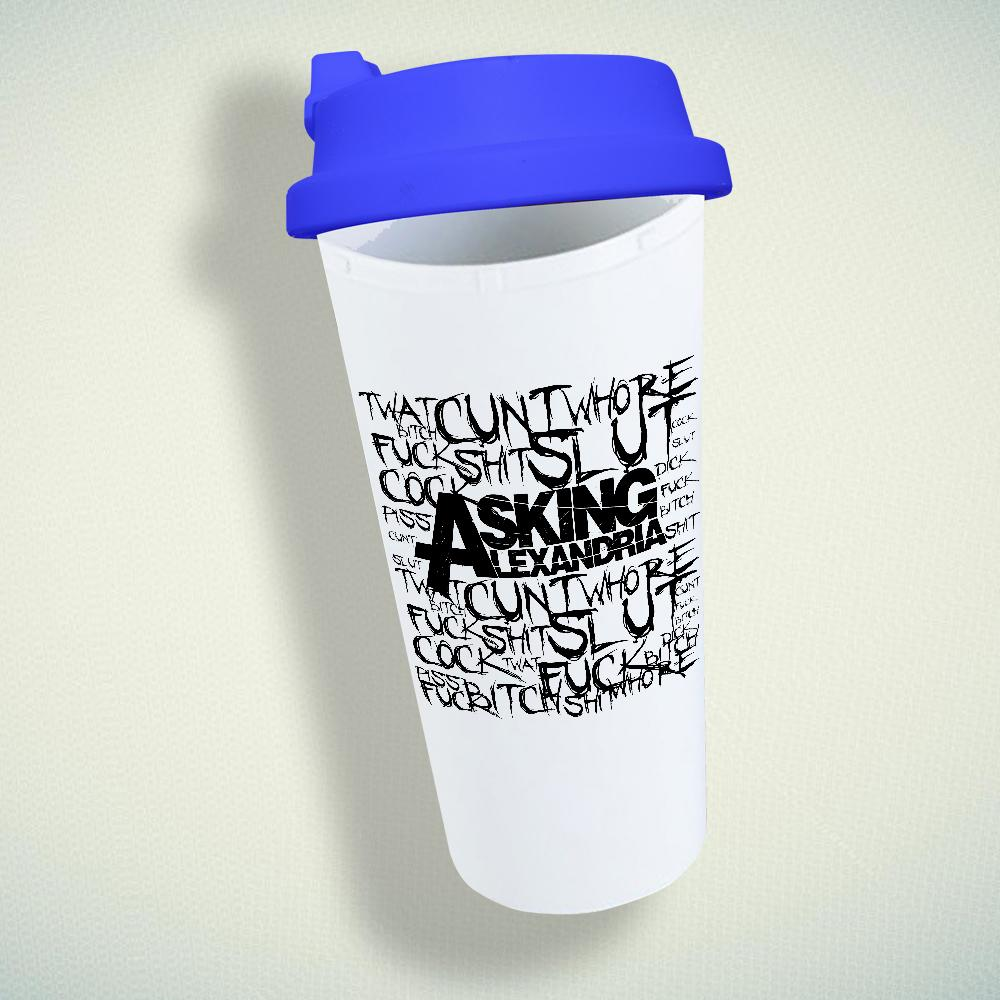 Asking Alexandria Quotes Double Wall Plastic Mug