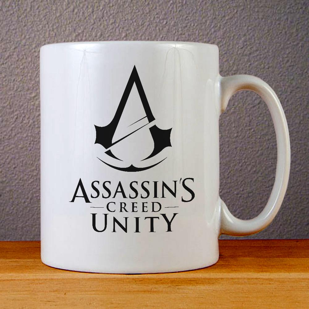 Assassins Creed Unity Logo Ceramic Coffee Mugs