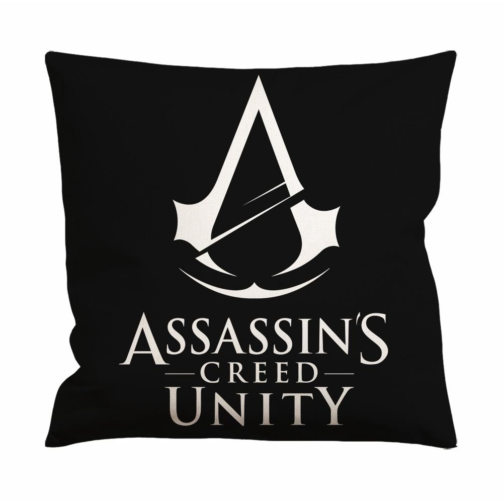 Assassins Creed Unity Logo Cushion Case / Pillow Case