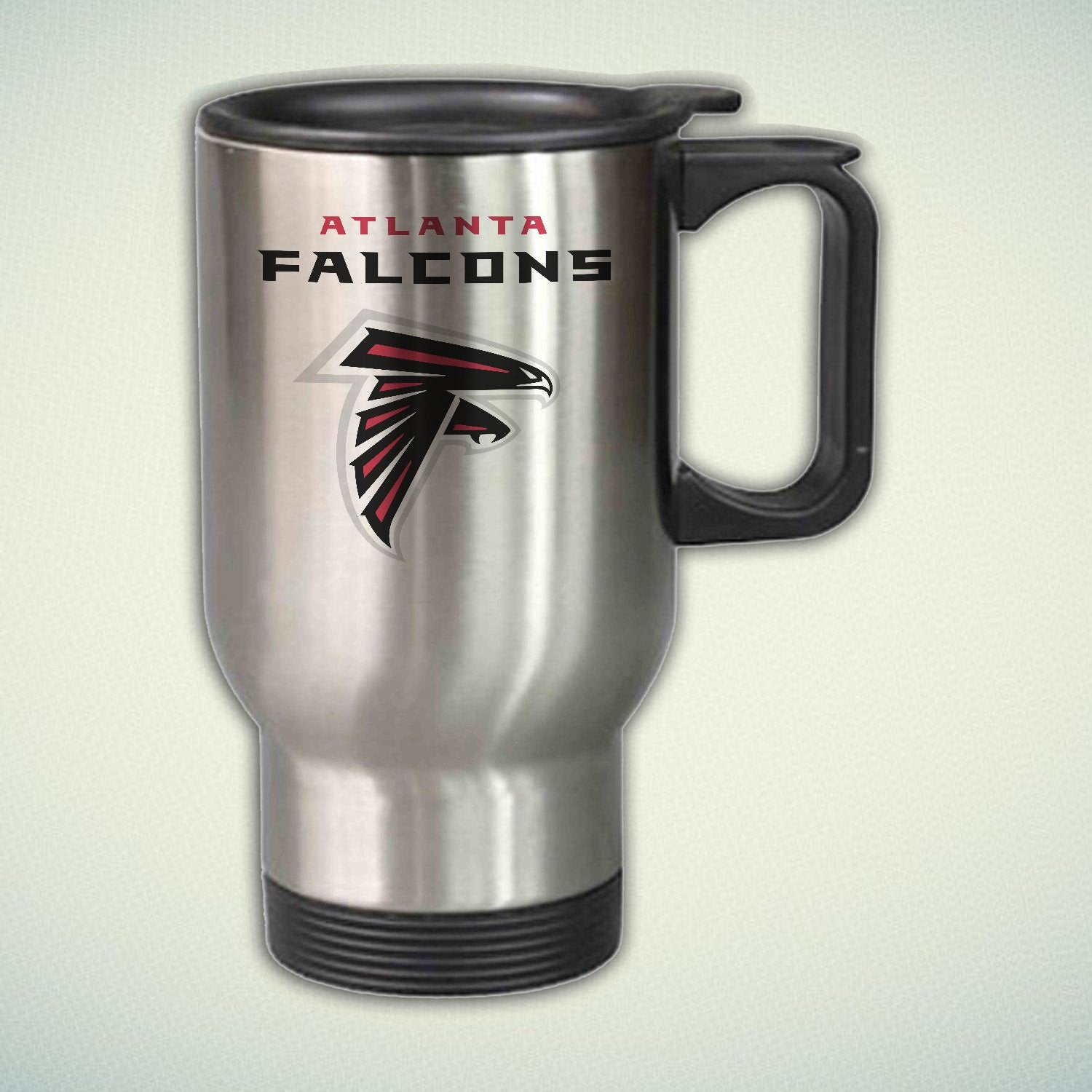 Atlanta Falcons Logo 14oz Stainless Steel Travel Mug