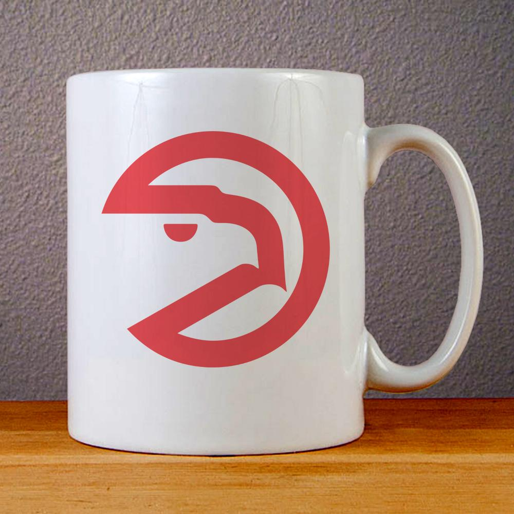 Atlanta Hawks Logo Ceramic Coffee Mugs