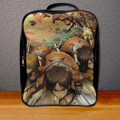 Attack on Titans Trainees Squad Backpack for Student
