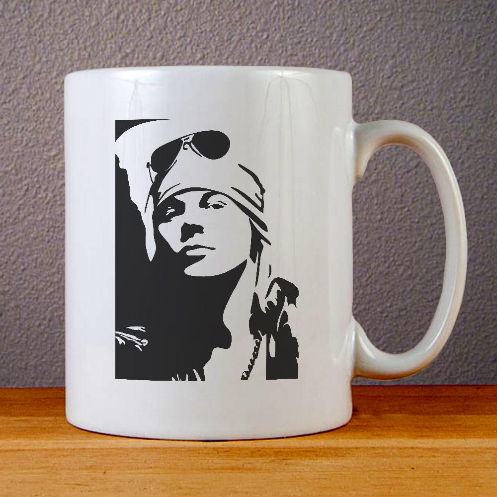 Axl Rose Art Ceramic Coffee Mugs