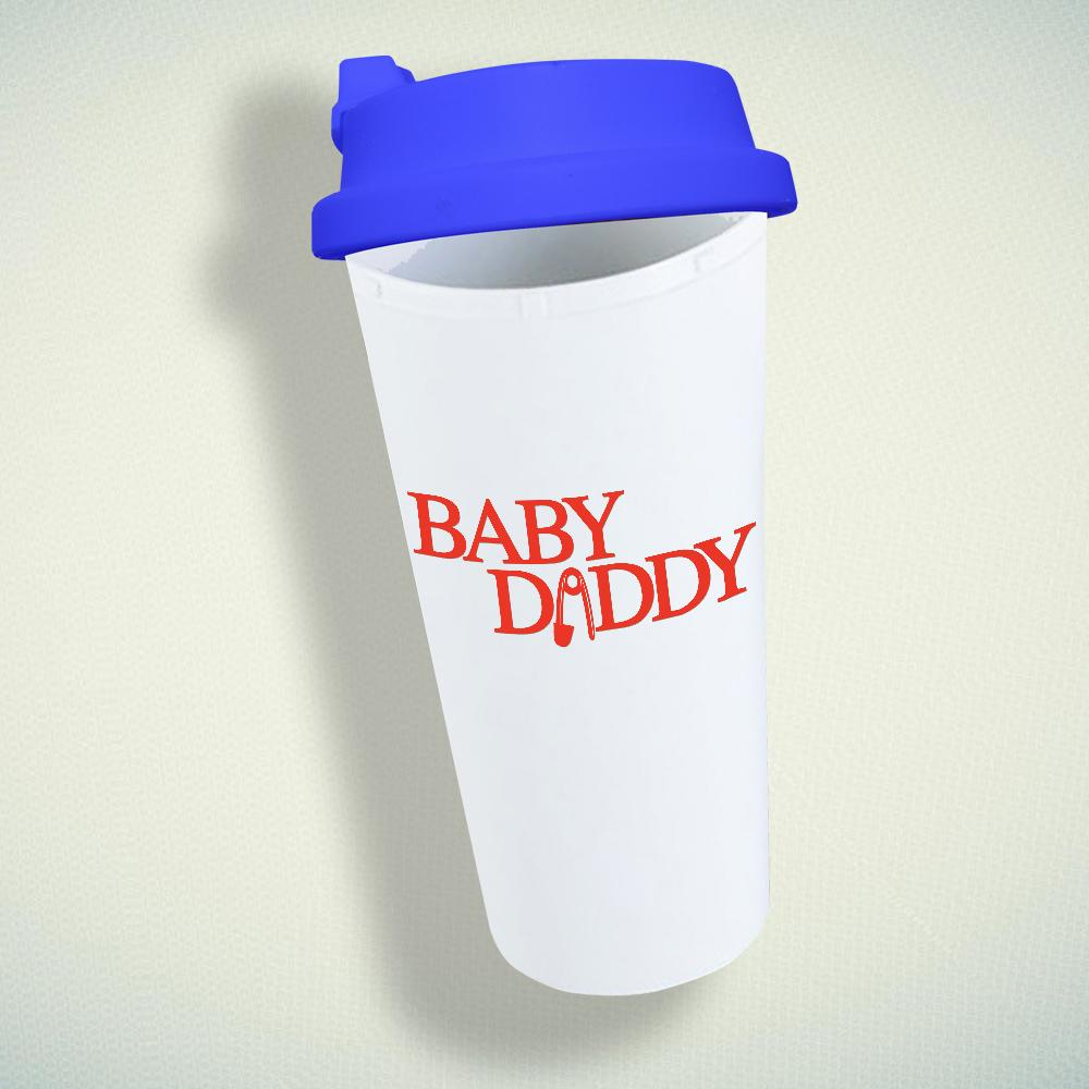 Baby Daddy Double Wall Plastic Mug