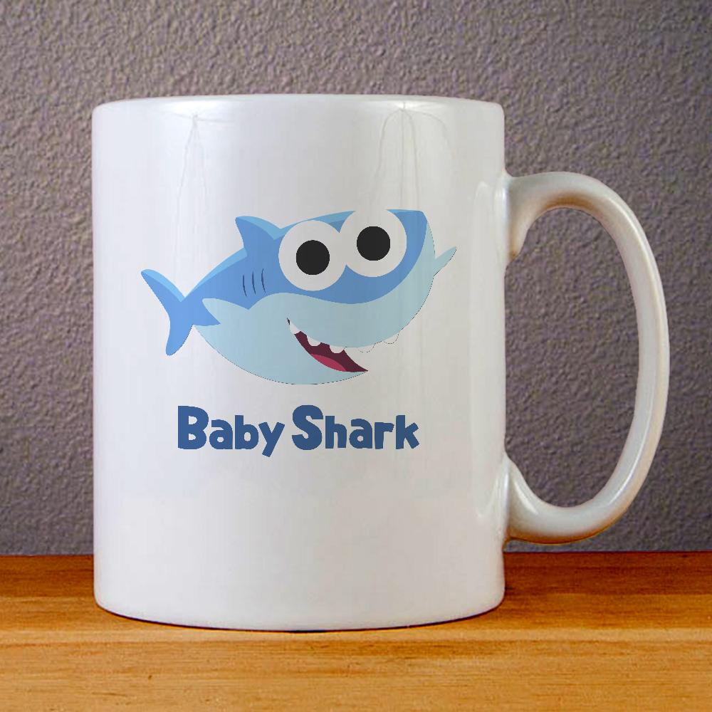 Baby Shark Ceramic Coffee Mugs